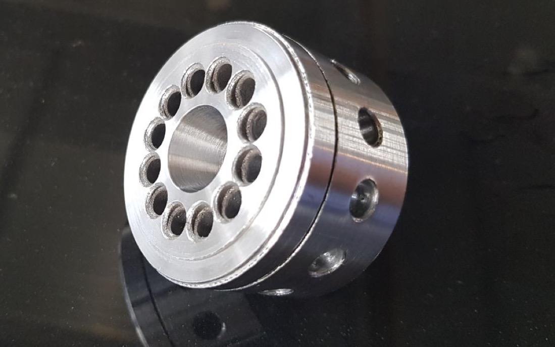 Печать металлического изделия на заказ по технологии SLM