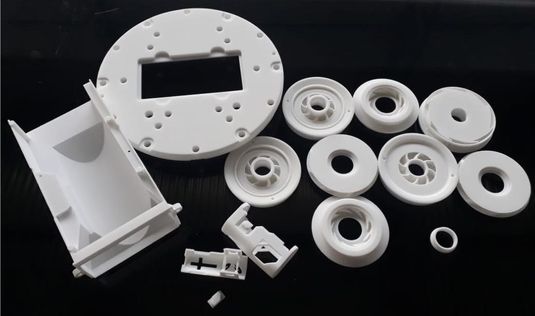 Печать прототипа по технологии SLS 1