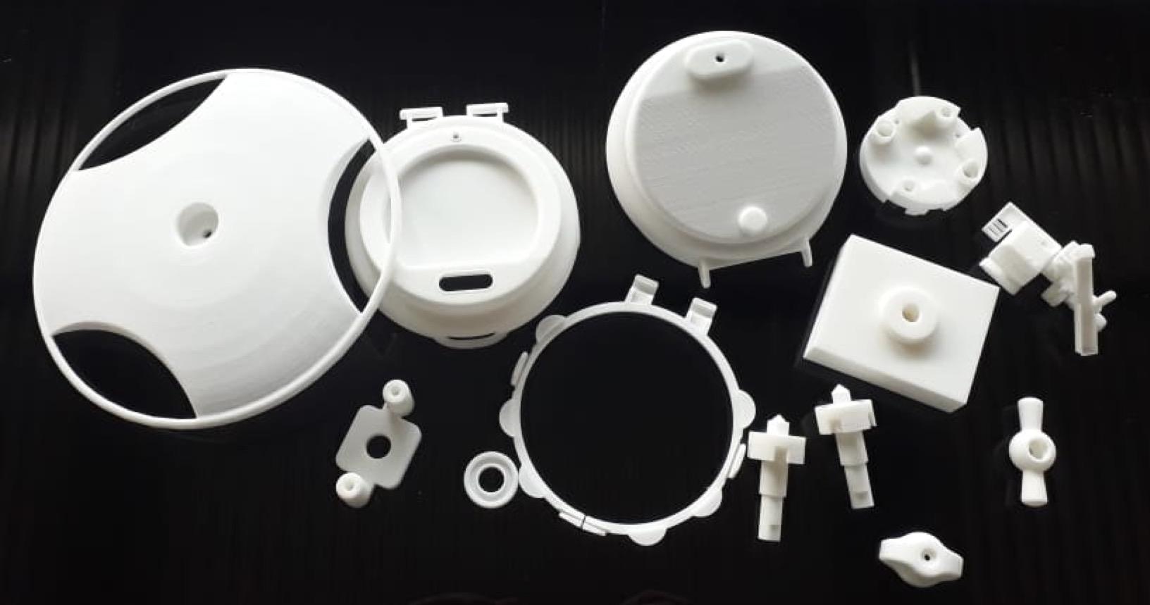 Печать прототипа - технология SLS 3