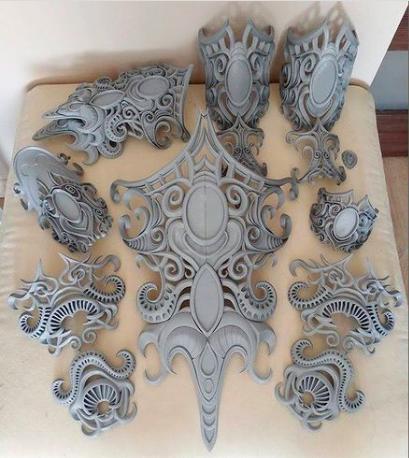 3D печать элементов костюма