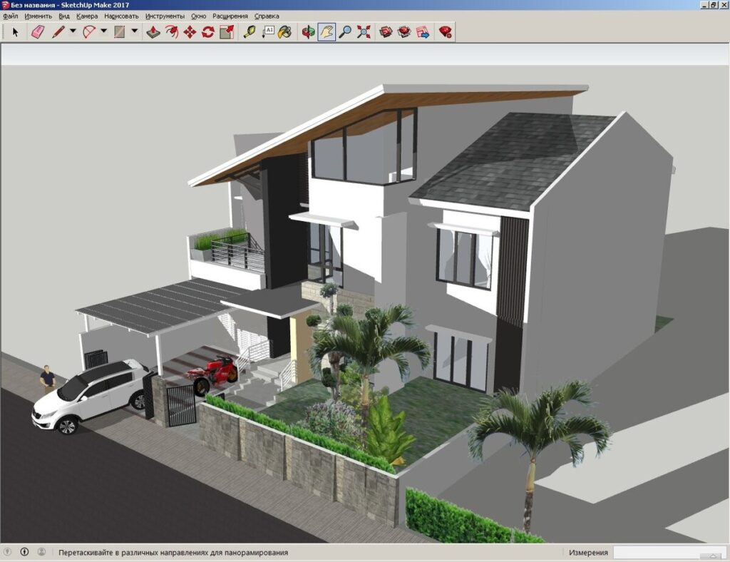 Программа SketchUp для 3д моделирования