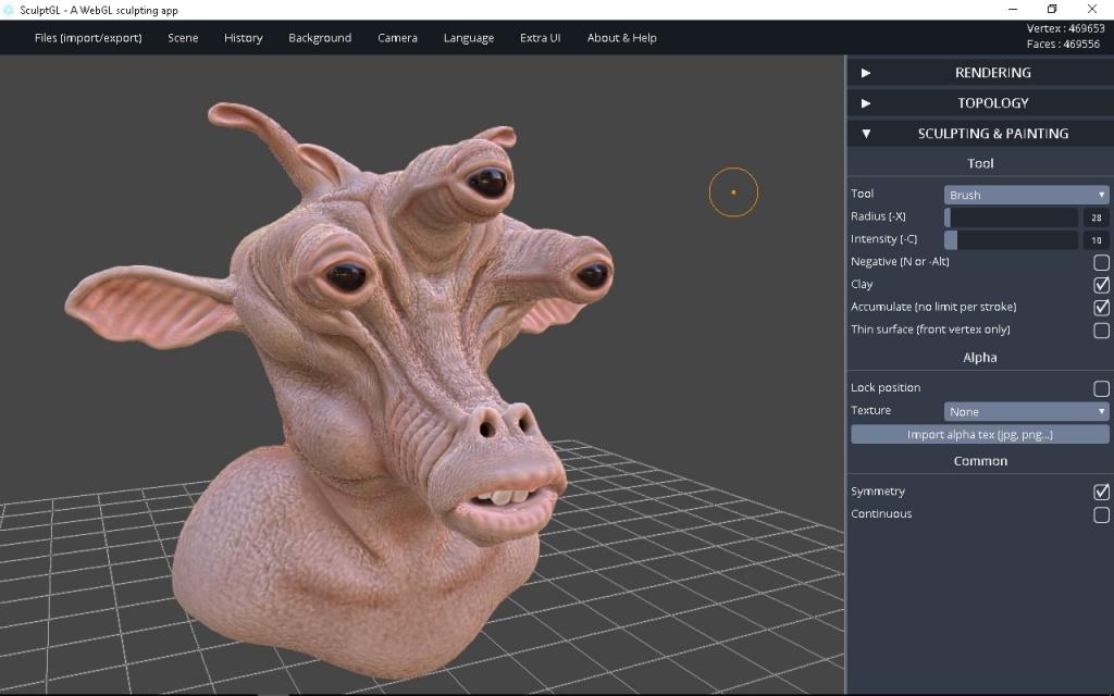 Программа Wings 3D для 3д моделирования