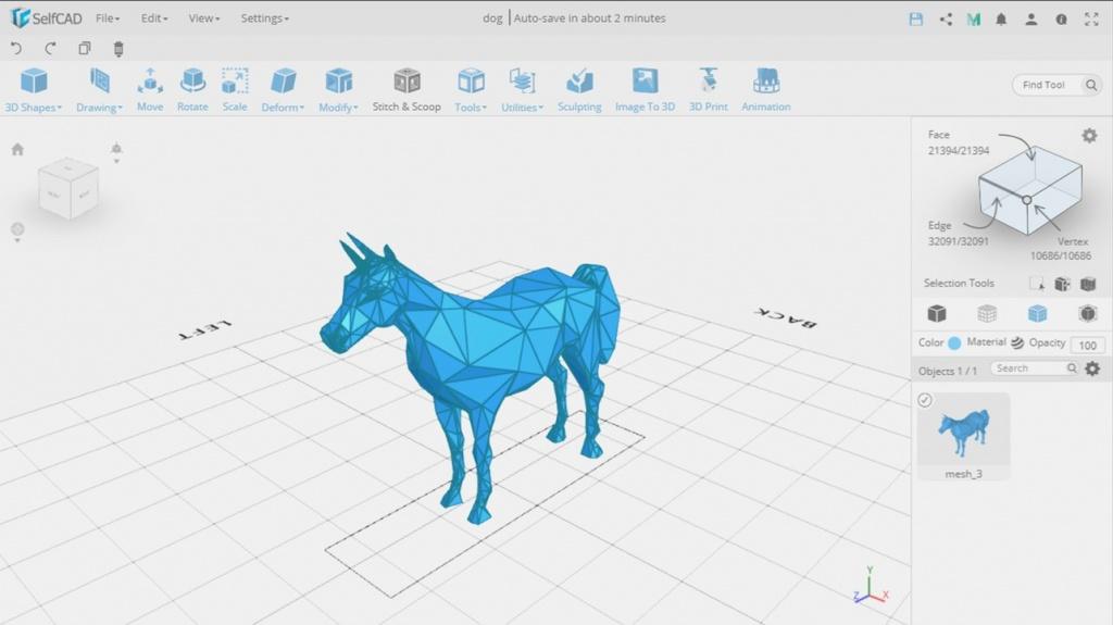 Программа TinkerCAD для 3д моделирования